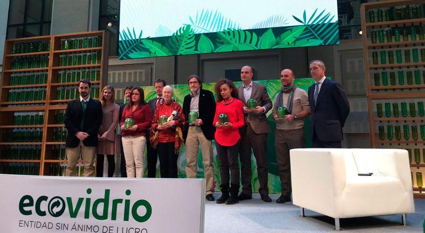 Jane Goodall, 'Personalidad Ambiental Año 2016' XVII Premios Periodísticos Ecovidrio