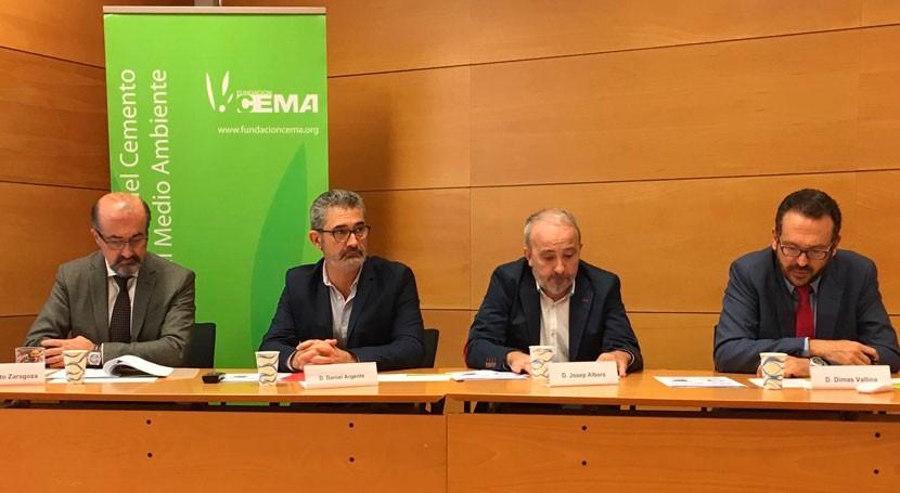 industria cementera española recuperó energéticamente 788.601 toneladas residuos 2016