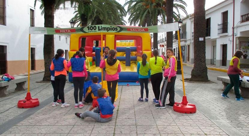 Badajoz celebra Día Mundial Reciclaje olimpiada Codosera