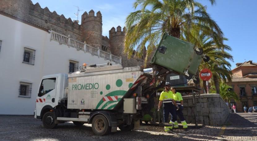 Promedio mantiene final agosto refuerzo verano recogida residuos urbanos