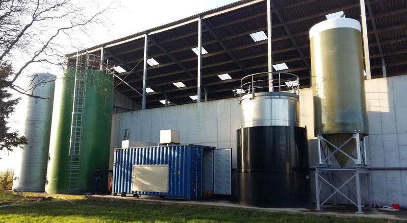 Biofertilizantes partir digerido plantas biogás proyecto DIGESMART