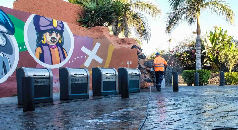 Reciclar 70% residuos 2020, objetivo Puerto Cruz