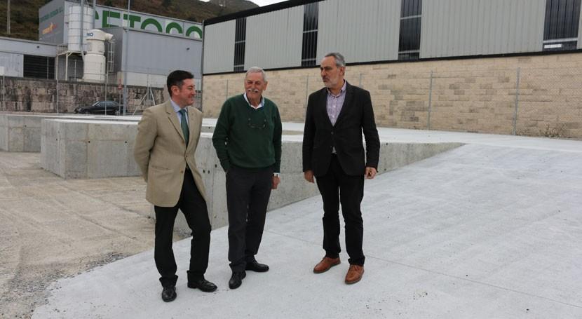 Nuevo punto gestión residuos empresariales polígono Facha Campo Lameiro