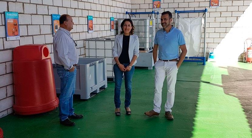 nuevo Punto Limpio Villanueva Rey facilitará gestión 45.000 kilos residuos