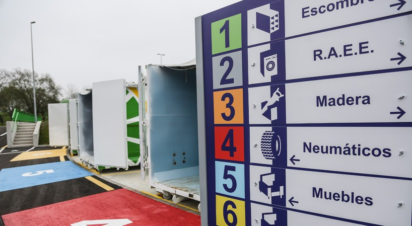 puntos limpios Asturias recibieron 38.000 toneladas residuos voluminosos 2016