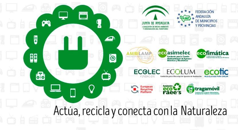 Mancomunidad Sierra Norte Sevilla se une al Convenio RAEE Andalucía