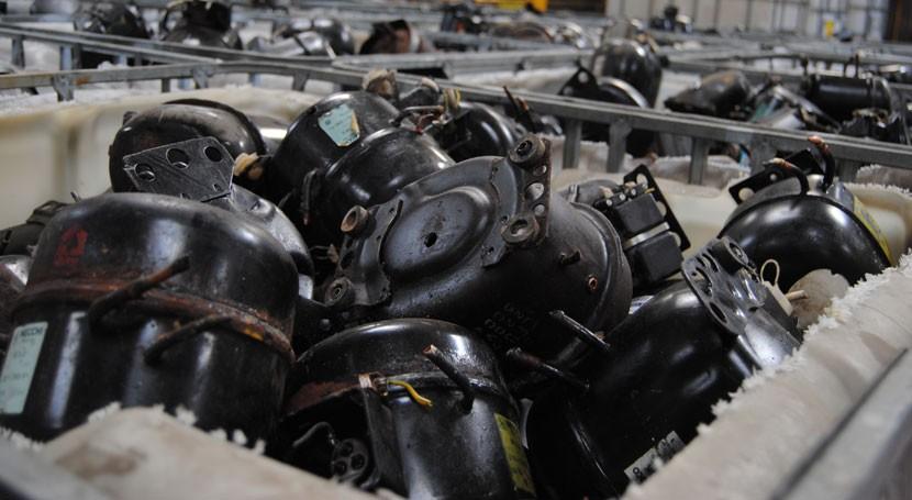 recogida residuos aparatos eléctricos y electrónicos Córdoba aumenta 93% 2016