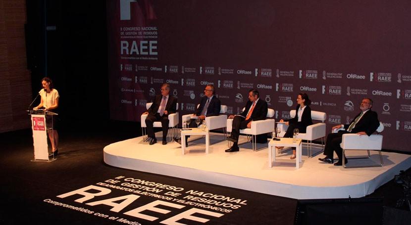 Concluye II Congreso Nacional RAEE Valencia más 300 asistentes