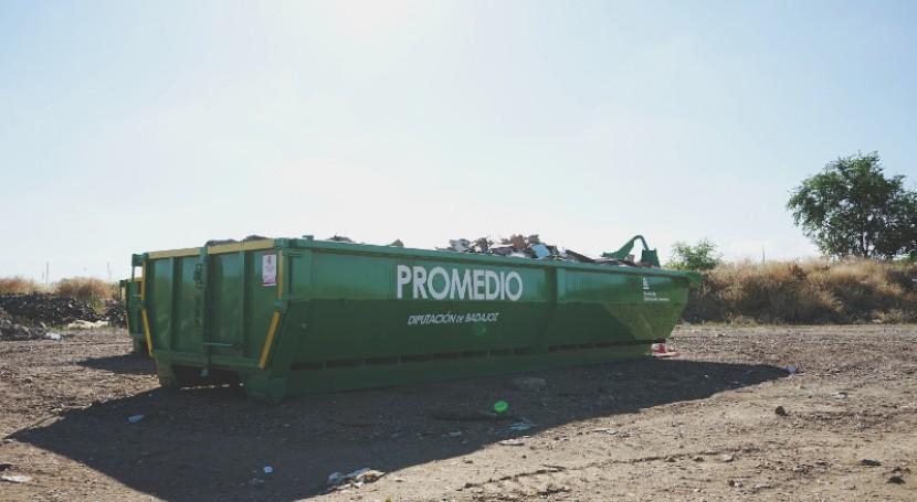 Promedio retira 5.000 toneladas escombros setenta localidades durante primer año