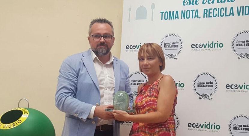 Valencia lidera plan estival Ecovidrio 10.000 toneladas vidrio recicladas