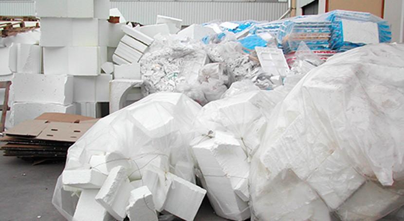 reciclado poliestireno expandido aumenta 24% durante pasado año España