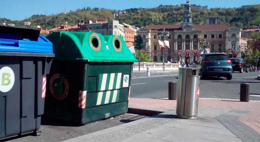 Bilbao aumenta tasa reciclaje 14% 2016