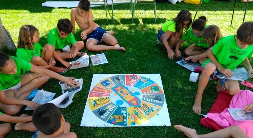 Más 5.000 niños aprenden reciclaje campamentos verano Castilla- Mancha
