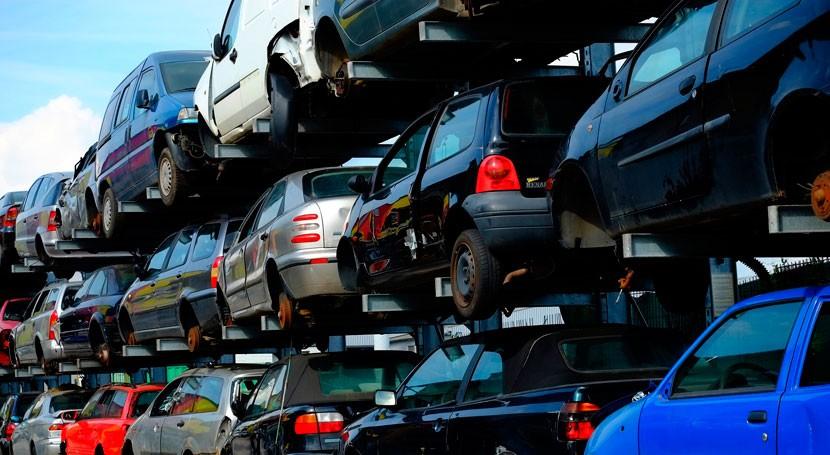 España recicla 84% vehículos fuera uso
