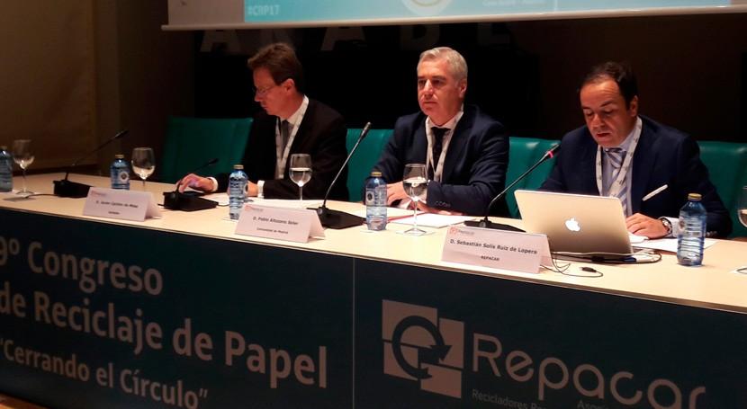 Comunidad Madrid recicla más 123.500 toneladas papel y cartón al año