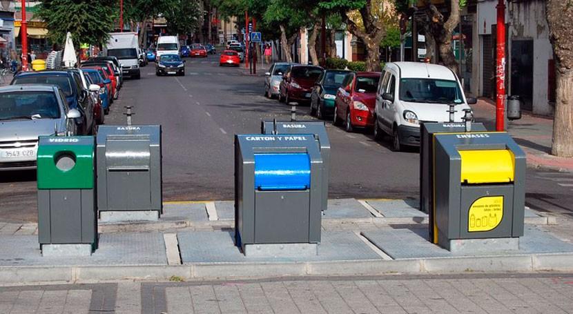 reciclaje Parla aumenta 2016 casi 30% respecto al año anterior