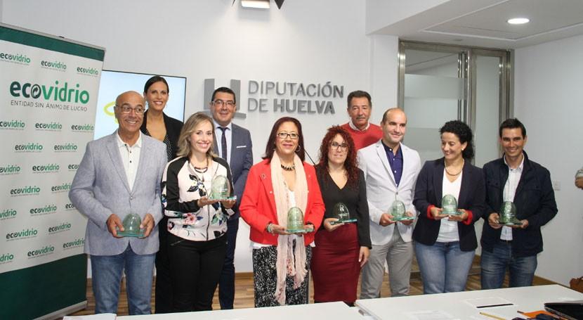 Huelva recicla más 834.000 kilos vidrio durante julio y agosto, 21% más que 2015