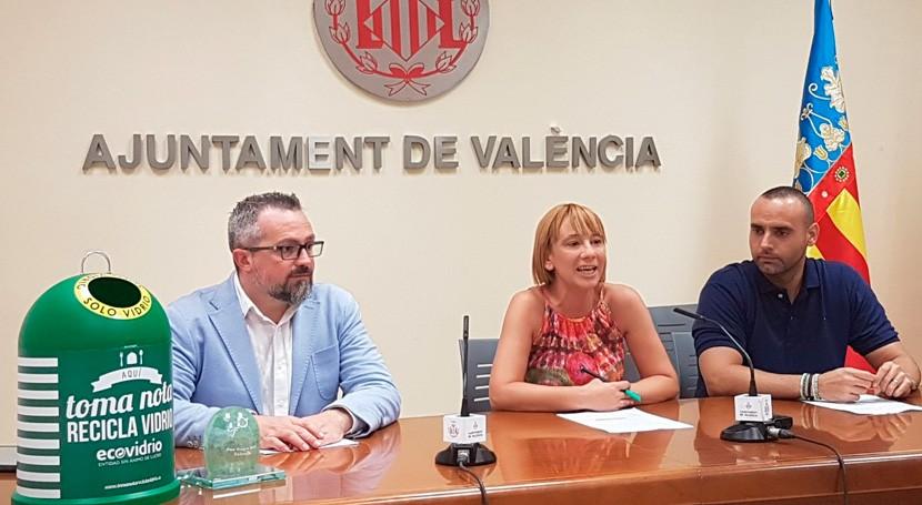 3.000 bares y restaurantes Valencia buscarán incrementar reciclaje vidrio verano