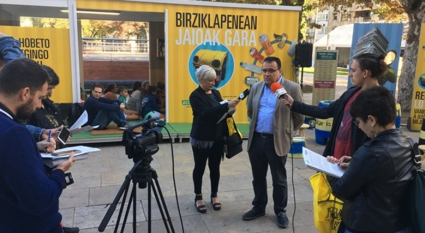 campaña vasca acercar economía circular ciudadanía llega Durango
