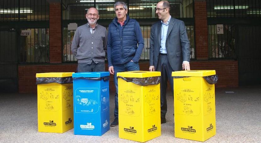 Logroño fomenta reciclaje selectivo residuos centros municipales