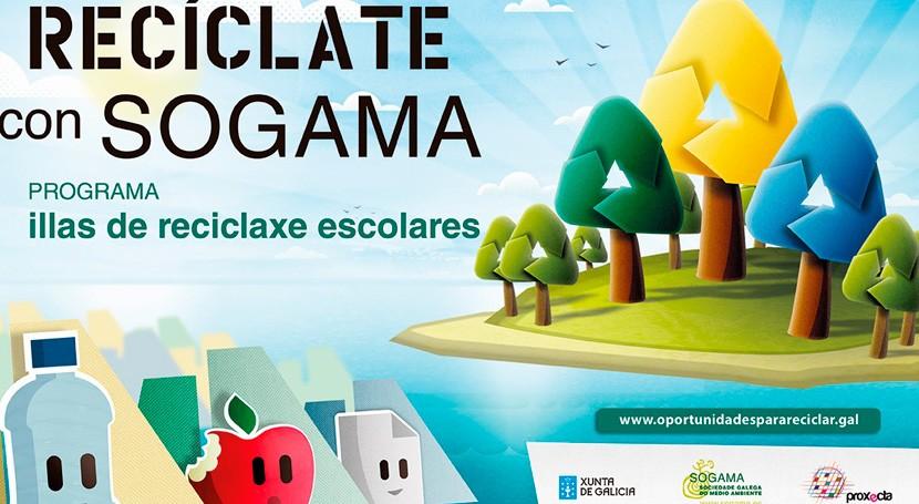 """Realizada primera visita seguimiento colegios adscritos """"Recíclate Sogama"""""""
