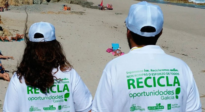 campaña gallega reciclaje llega comarcas Eume, Ferrolterra y Ortegal