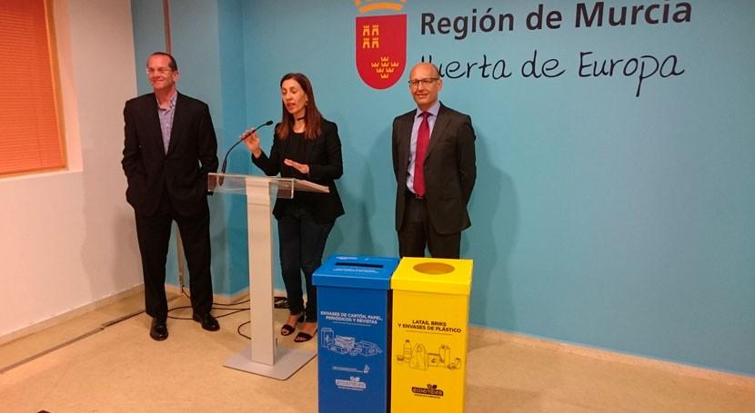 Murcia recicla 36.069 toneladas envases 2016