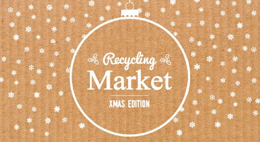 """Recycling Market """"Xmas Edition"""" apuesta Navidad reciclada"""