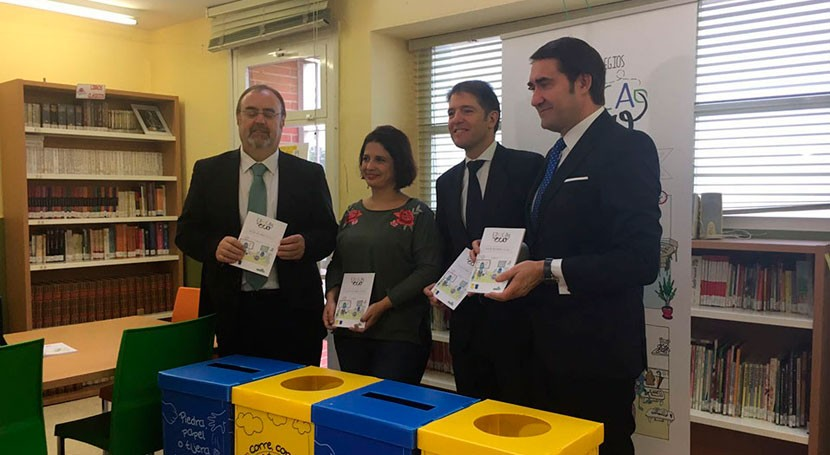 Castilla y León impulsa reciclaje 'Red Colegios EducaEnEco'