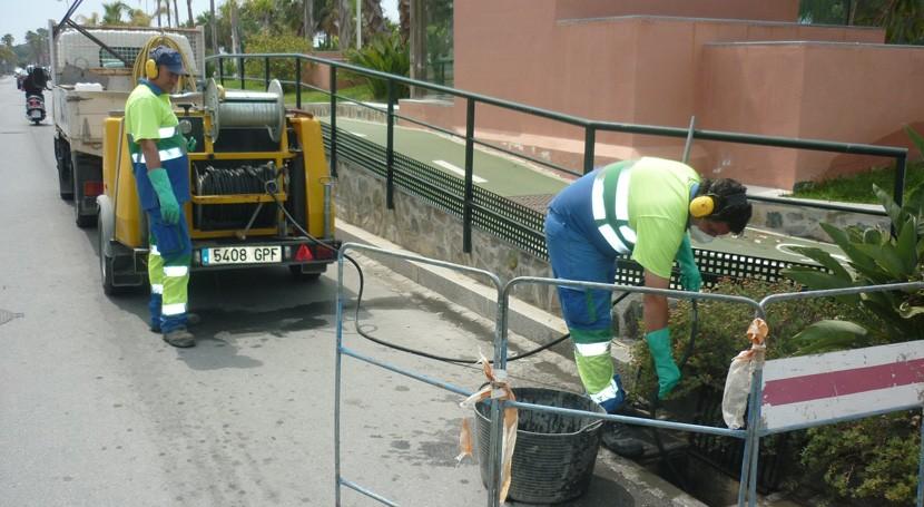 Aqualia extrae más 133.000 litros residuos alcantarillas 15 municipios granadinos