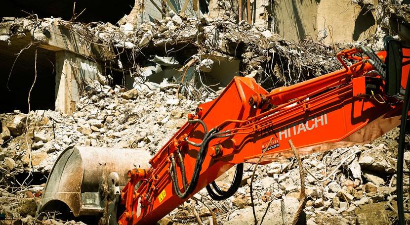 Aumenta generación residuos construcción Cataluña segundo año consecutivo