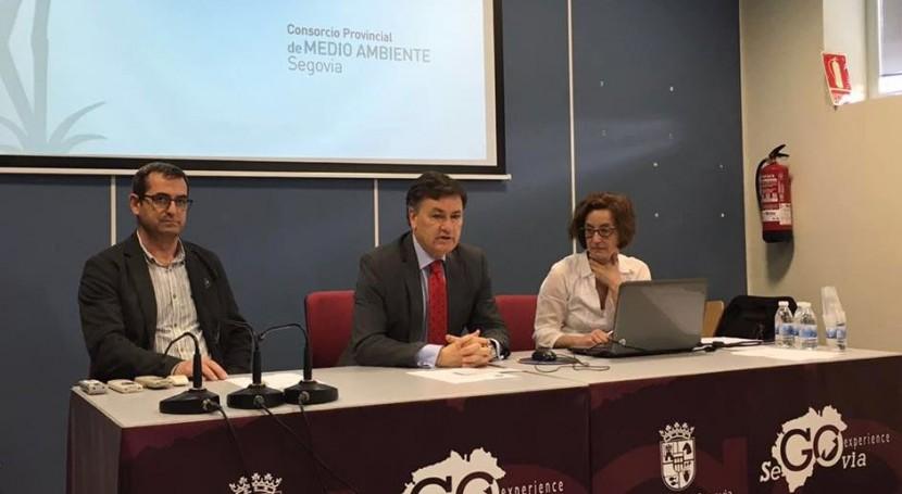 ECOLUM participa Jornada gestión residuos Segovia