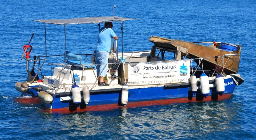 Autoridad Portuaria recoge último año 185 m³ residuos puerto Palma