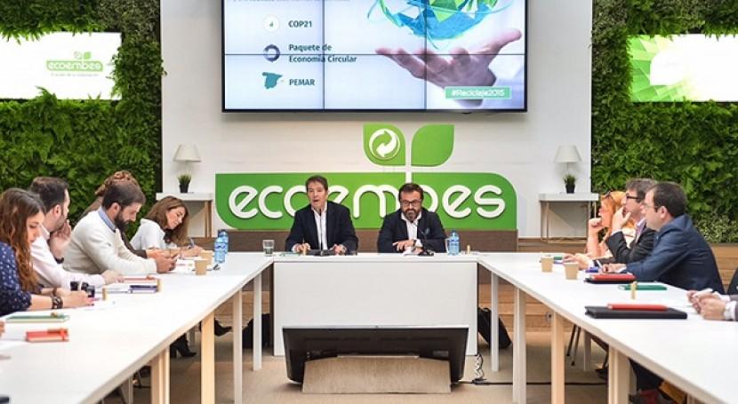 España recicló 1,3 millones toneladas envases domésticos 2015