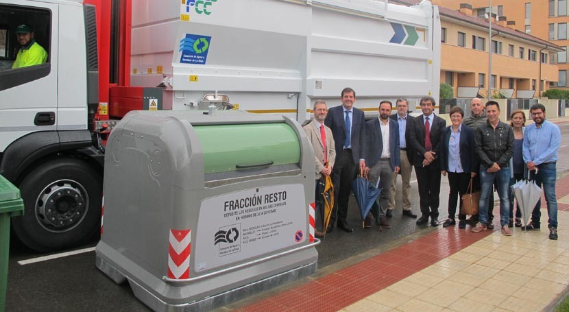 6 municipios Rioja Baja estrenan servicio recogida fracción resto residuos domésticos