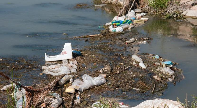 papel ríos transporte residuos plásticos almar