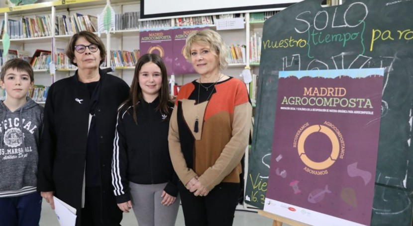Madrid Agrocomposta se extiende 20 nodos recogida fracción orgánica
