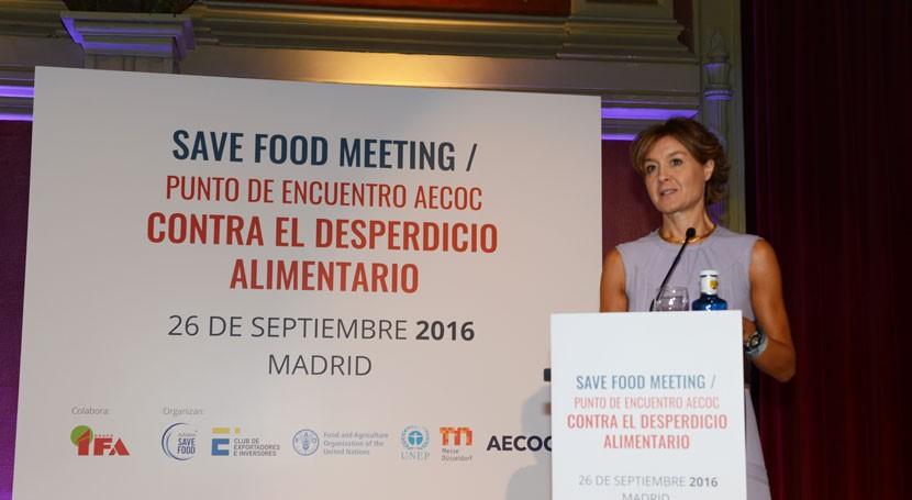 """Tejerina: """"Todos podemos y debemos contribuir luchar desperdicio alimentario"""""""