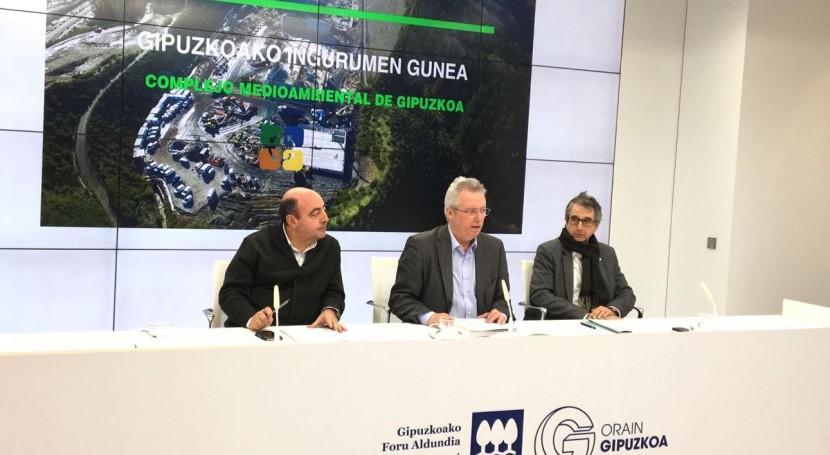 Aprobados pliegos licitación 2ª fase Complejo Medioambiental Gipuzkoa