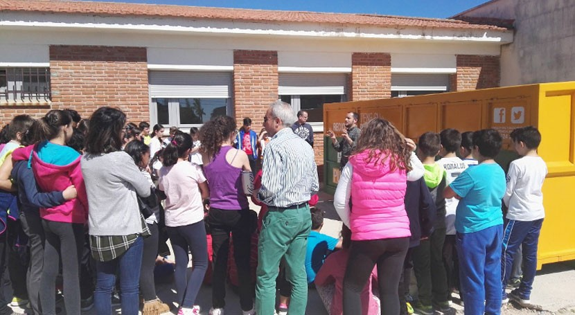 punto limpio móvil PROMEDIO inicia Santa Amalia recorrido educativo