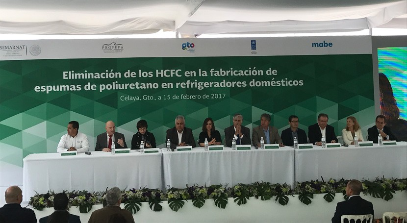 Impulso producción electrodomésticos través tecnologías limpias México