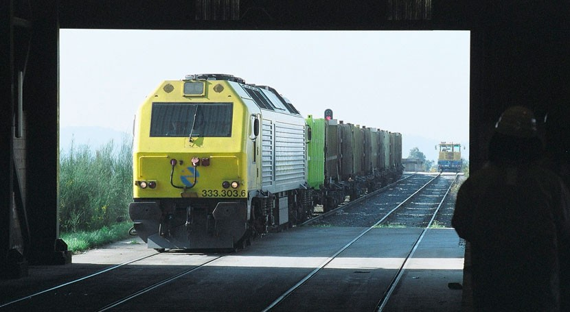 transporte residuos ferrocarril alcanza Sogama 58'5 % durante mes noviembre