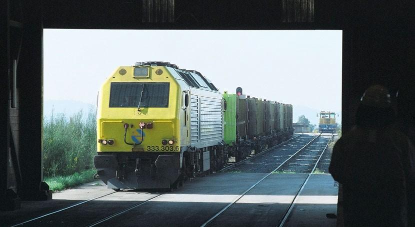 Galicia incrementa más 47% traslado residuos urbanos ferrocarril
