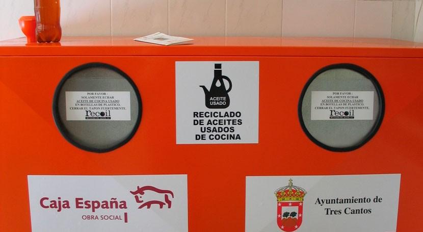 Punto limpio recogida aceite madrid