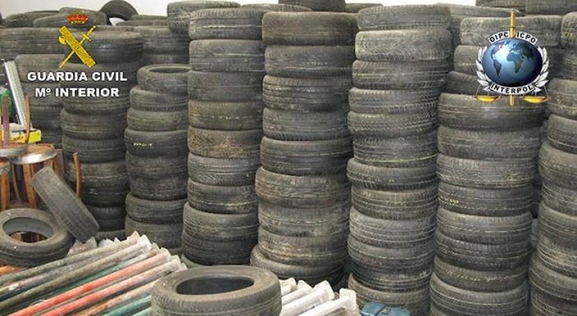 Descubiertas más 1,5 millones toneladas vertidos ilegales operación internacional