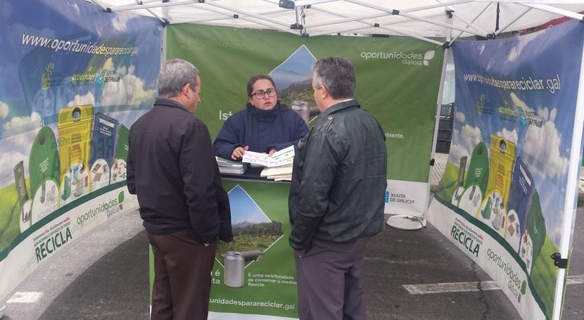 San Sadurniño, Aranga y Cariño, siguientes paradas campaña gallega reciclaje
