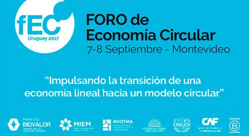 Uruguay acoge primero Foro Economía Circular Latinoamérica