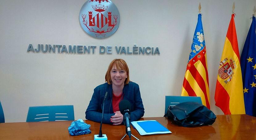 Valencia refuerza limpieza calle durante Fallas dispositivo especial