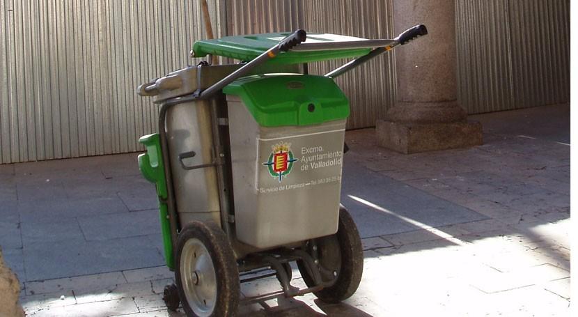 Valladolid refuerza limpieza ciudad durante fiestas