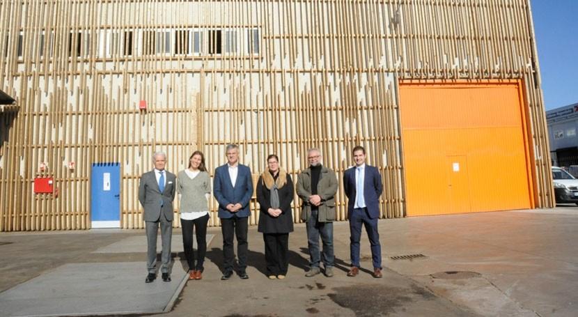 red calor biomasa más grande España ya abastece 3.000 vecinos Móstoles